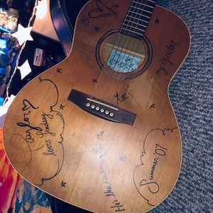 Authentic Taylor Swift Signed Guitar